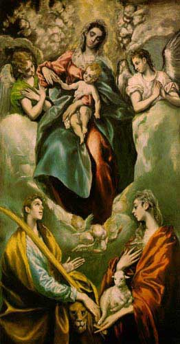 15076 El greco famous paintings oil paintings for sale