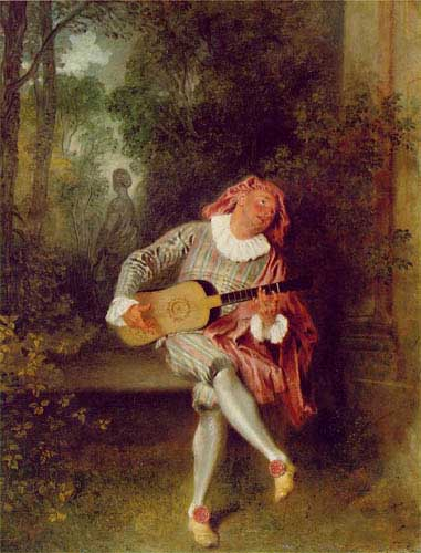 15081 Jean Antoine Watteau Paintings oil paintings for sale