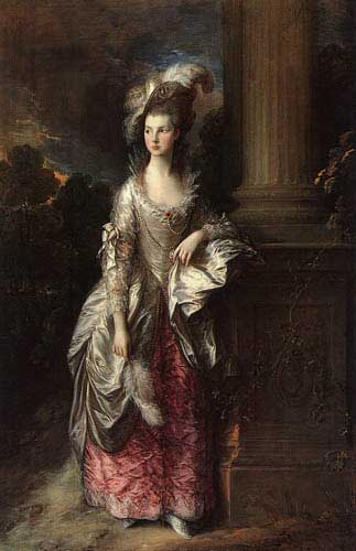 Painting Code#15107-Gainsborough, Thomas - Mrs Graham