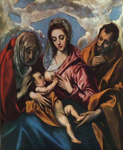 15142 El greco famous paintings oil paintings for sale