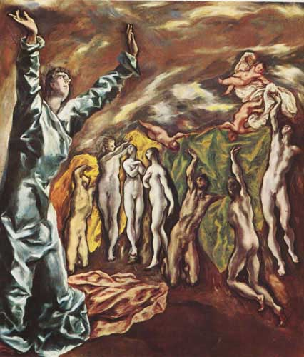 15153 El greco famous paintings oil paintings for sale