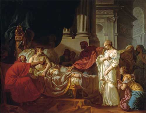 15419 Jacques louis david paintings oil paintings for sale