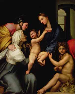 Painting Code#15457-Raphael - The Holy Family