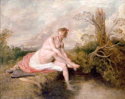 15482 Jean Antoine Watteau Paintings oil paintings for sale