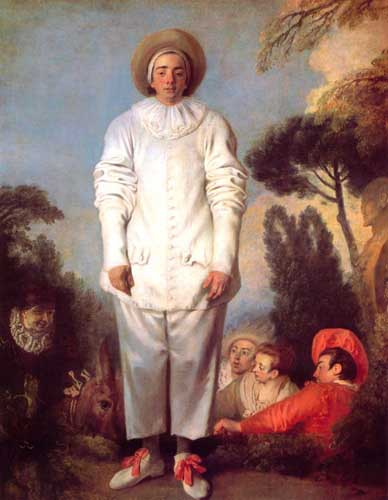 15484 Jean Antoine Watteau Paintings oil paintings for sale