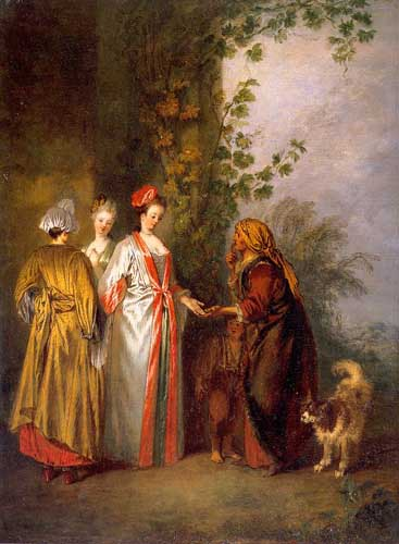15486 Jean Antoine Watteau Paintings oil paintings for sale