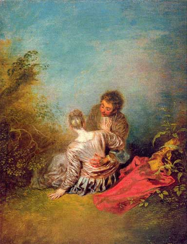15488 Jean Antoine Watteau Paintings oil paintings for sale