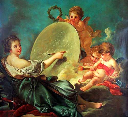15500 Francois Boucher Paintings oil paintings for sale