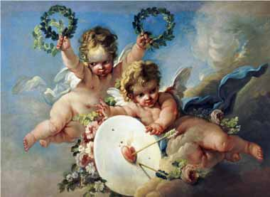 15505 Angel Oil Paintings oil paintings for sale