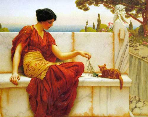 1565 John William Godward paintings oil paintings for sale