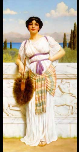 1587 John William Godward paintings oil paintings for sale
