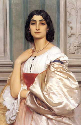 1589 Frederic Leighton Paintings oil paintings for sale