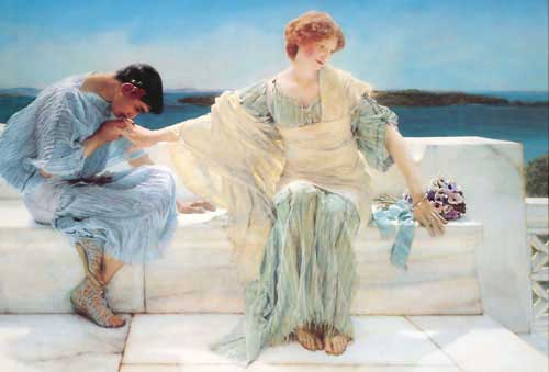 1598 Sir Lawrence Alma Tadema oil Paintings  oil paintings for sale
