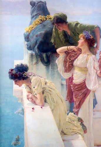 1717 Sir Lawrence Alma Tadema oil Paintings  oil paintings for sale