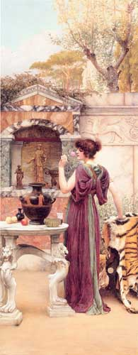 1724 John William Godward paintings oil paintings for sale