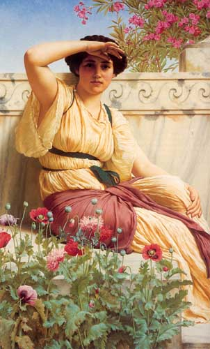 1728 John William Godward paintings oil paintings for sale