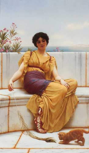 1740 John William Godward paintings oil paintings for sale