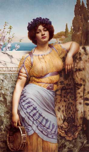 1741 John William Godward paintings oil paintings for sale