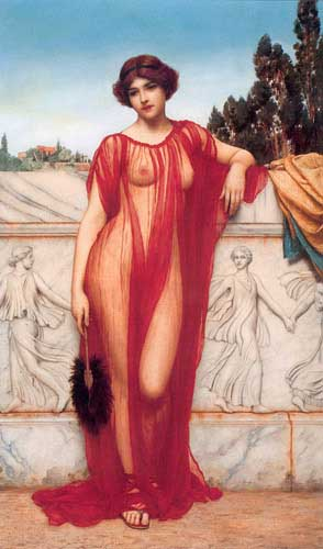 1743 John William Godward paintings oil paintings for sale