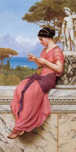 1745 John William Godward paintings oil paintings for sale