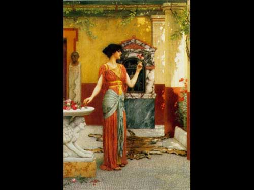 1830 John William Godward paintings oil paintings for sale
