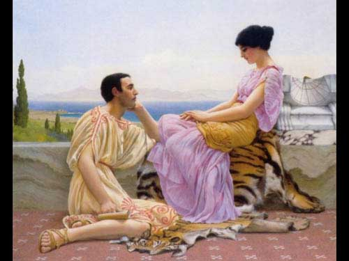 1848 John William Godward paintings oil paintings for sale