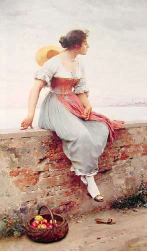 1901 Eugene De Blaas Paintings oil paintings for sale