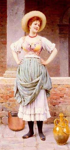 1931 Eugene De Blaas Paintings oil paintings for sale