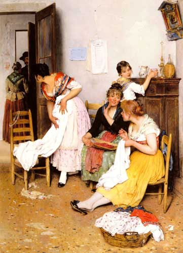 1934 Eugene De Blaas Paintings oil paintings for sale