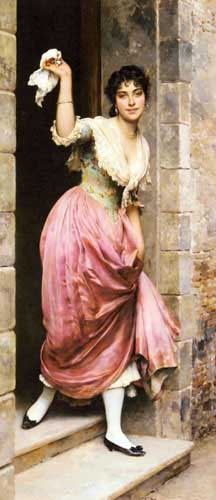 1940 Eugene De Blaas Paintings oil paintings for sale