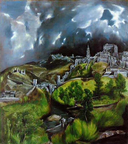 20070 El greco famous paintings oil paintings for sale