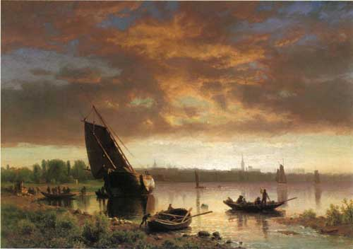 20260 Albert Bierstadt Paintings oil paintings for sale