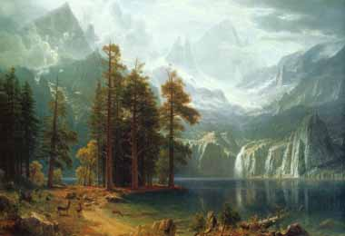 20273 Albert Bierstadt Paintings oil paintings for sale
