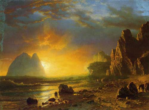 20276 Albert Bierstadt Paintings oil paintings for sale