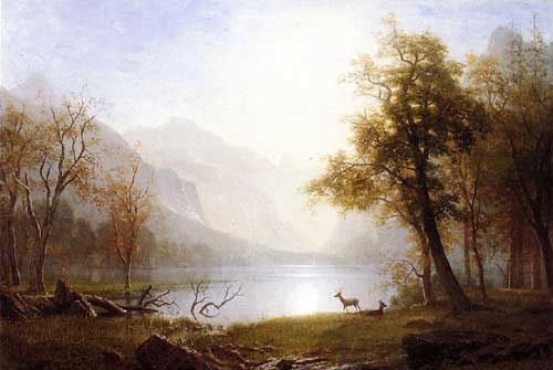 20283 Albert Bierstadt Paintings oil paintings for sale