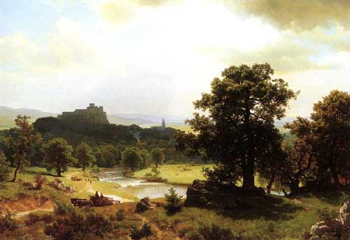 2158 Albert Bierstadt Paintings oil paintings for sale
