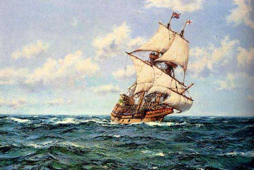 2163 Montague dawson paintings oil paintings for sale