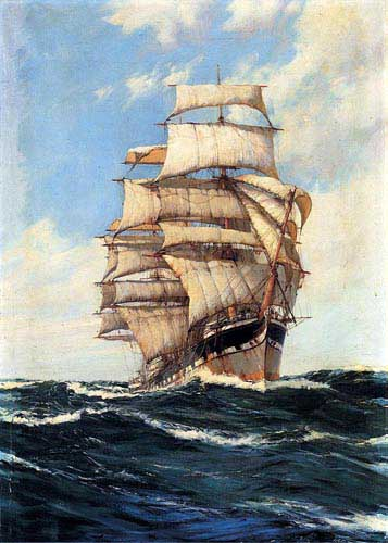 2166 Montague dawson paintings oil paintings for sale