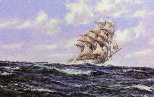 2323 Montague dawson paintings oil paintings for sale