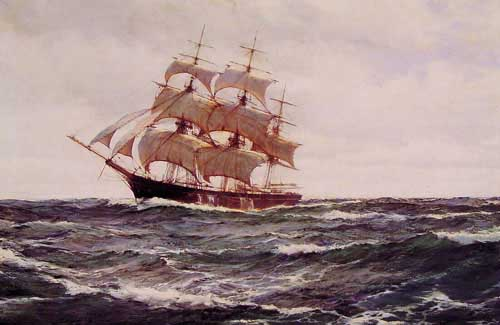 2328 Montague dawson paintings oil paintings for sale