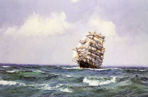 2331 Montague dawson paintings oil paintings for sale