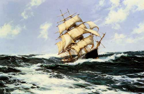 2333 Montague dawson paintings oil paintings for sale