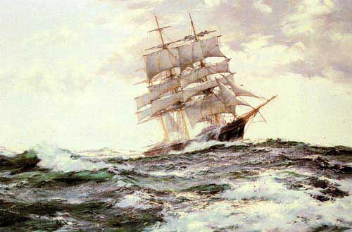2335 Montague dawson paintings oil paintings for sale