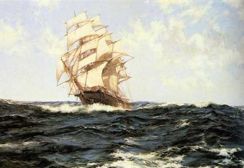 2337 Montague dawson paintings oil paintings for sale