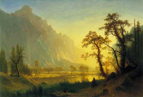 2404 Albert Bierstadt Paintings oil paintings for sale