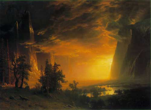 2405 Albert Bierstadt Paintings oil paintings for sale