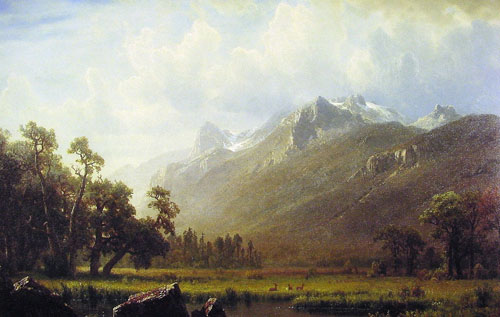 2434 Albert Bierstadt Paintings oil paintings for sale