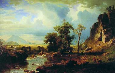 2437 Albert Bierstadt Paintings oil paintings for sale