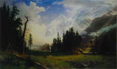 2458 Albert Bierstadt Paintings oil paintings for sale