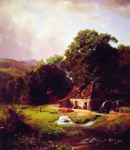 2463 Albert Bierstadt Paintings oil paintings for sale